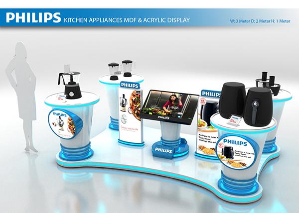 Philips UAE Dubai Mall Podoim on Pantone Canvas Gallery