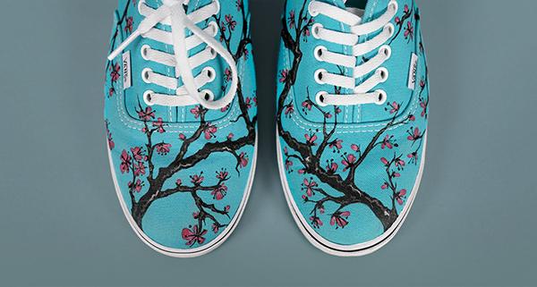 Arizona Green Tea Shoes on Student Show