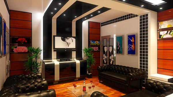 Isolation Salle De Bain Wedi : Salon Moderne Algerie  Etude et réalisation Salon ultra moderne