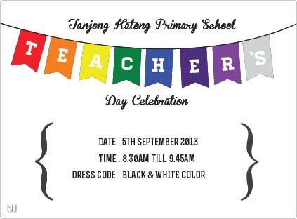 TKPS Teachers' Day Invitation Card on Behance
