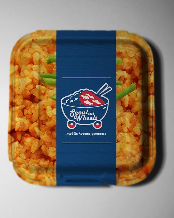 Seoul On Wheels Food Packaging On Behance