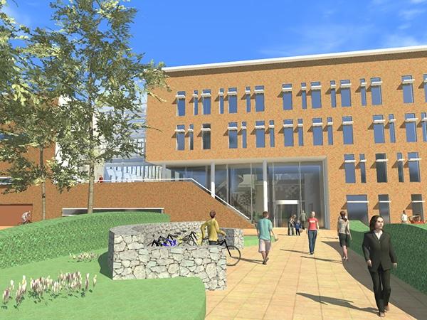 gemeentehuis city hall  Overbetuwe Elst duurzaamheid