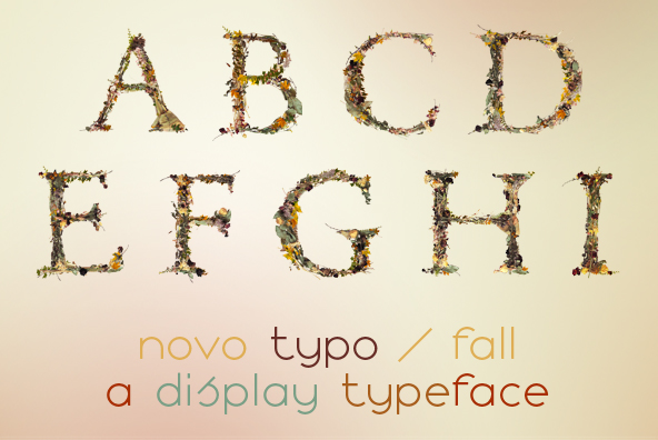 autumn brown decay Fall Flowers funeral leaves letters lost natural Nature numbers Typeface yellow