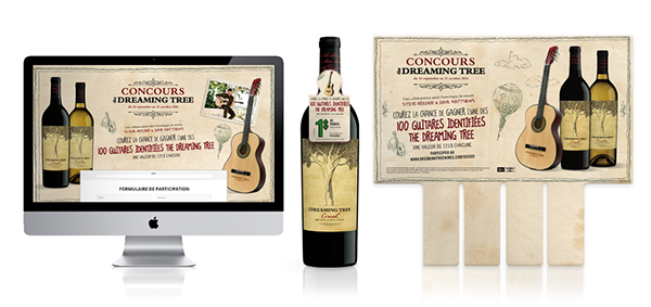 dreaming tree sweepstakes the dreaming tree wines win a guitar contest on behance 5691
