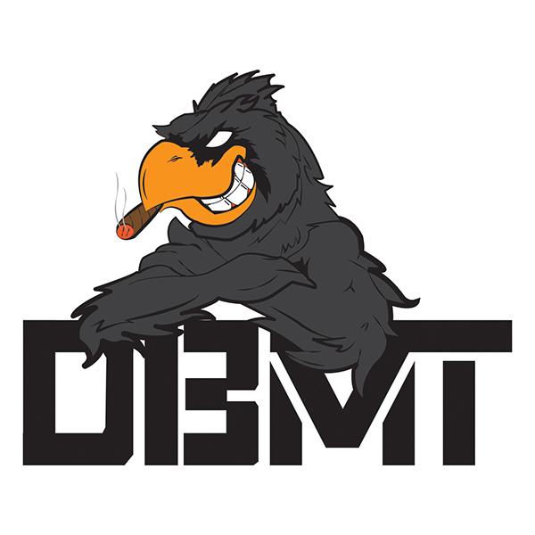Football Logo Design: Dirty Bird Money Team Logo On Student Show