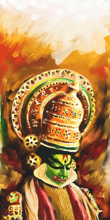 Illustrations For Nishagandhi Festival On Behance