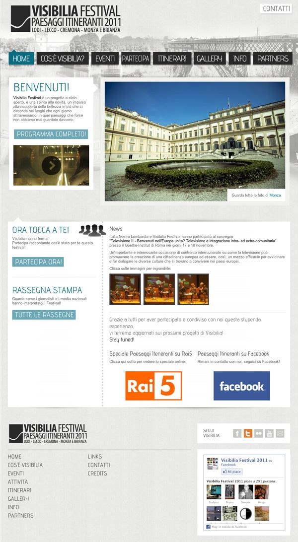 visibilia Webdesign front end back end cms
