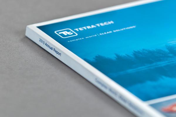Tetra Tech Annual Report on Behance