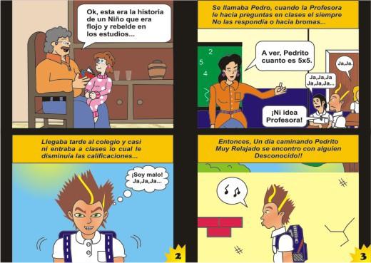 Historietas para niños - Imagui