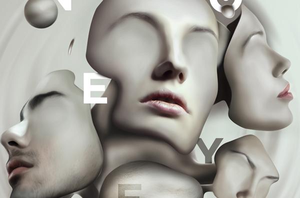 face sculpture eyes surreal Photo Manipulation  mask horror