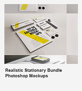 Realistic Stationery Mock-Up Set 1 - Corporate ID - 23