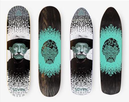 DESIGN | SOVRN Skateboard Decks on Behance