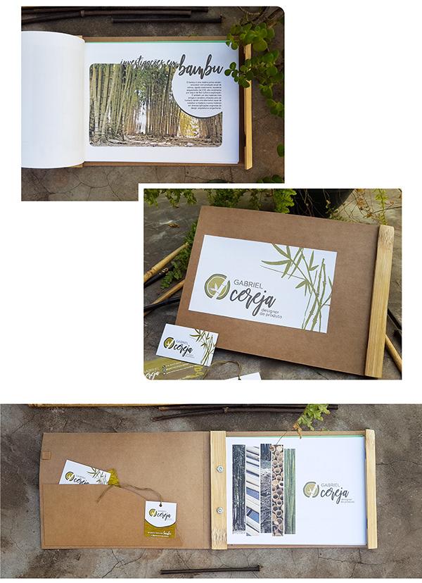 Portfólio, cartão e etiqueta | Gabriel Cereja