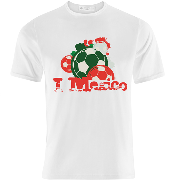 Mexican soccer t shirt design on behance for Soccer t shirt design ideas