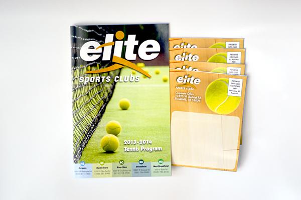 brochure Tennis Brochure  Self Mailer