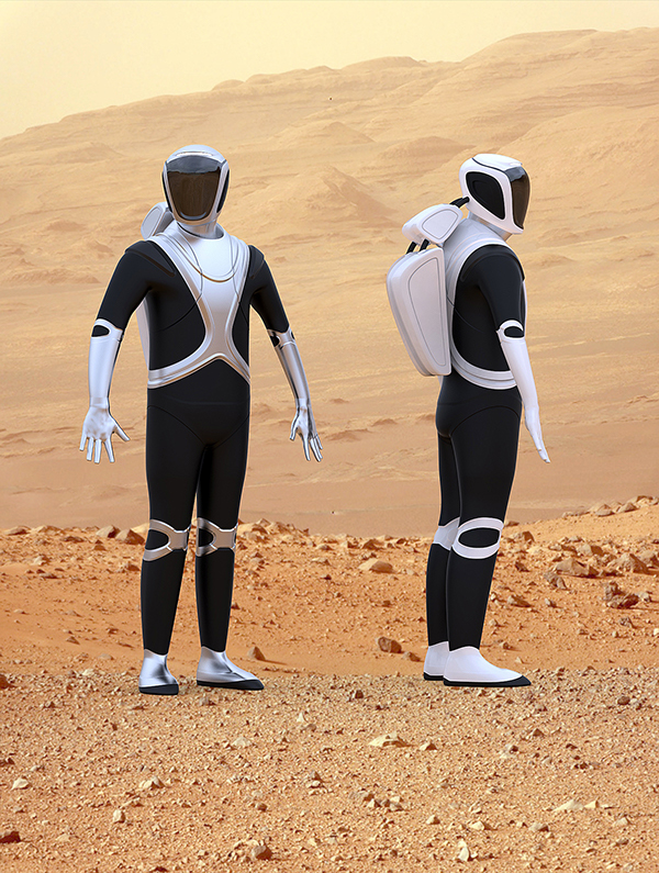 astronaut suit on mars - photo #38