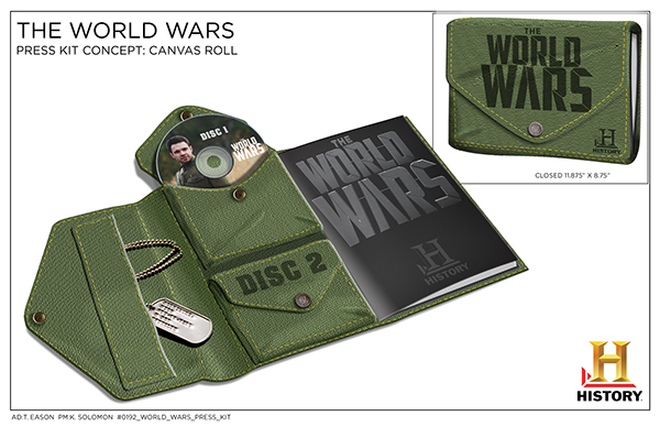 Press Kit Designs For History 39 S The World Wars On Behance