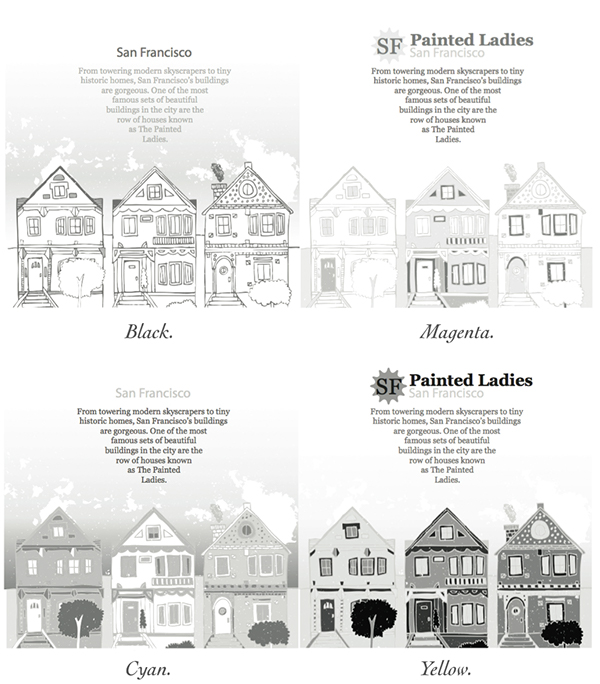 Painted Ladies Brochure San Francisco On Student Show