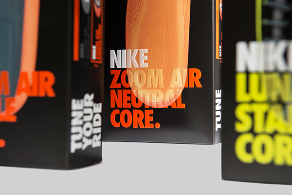 Nike MyStride on Pantone Canvas Gallery