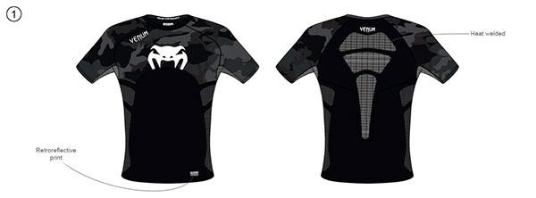 compression training sport Venum Boxe MMA JJB rashguard Spats fightwear textile Performance Clothing clothes absolute