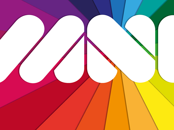logo  illustrator paper  brand design Fun color
