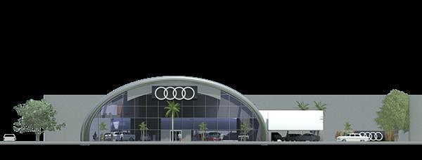 Audi Showroom On Behance
