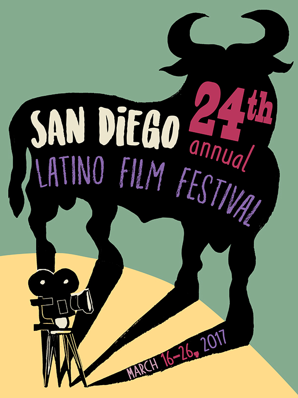San Diego Latino Film Festival Poster Design Submissions