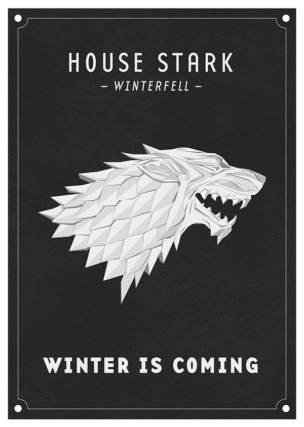 Game Of Thrones Houses Symbol And Sigil On Behance