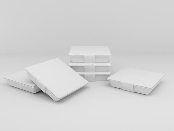 Plastic Food Box On Behance
