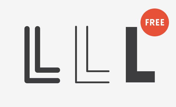 Lovelo Inline  Inline Font fontfabric free  font Typeface type sans sans serif type design Retro fonts Headline caps