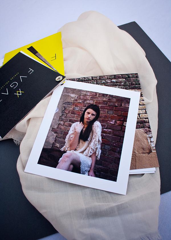 Fugazi Clothing Lookbook Invitation