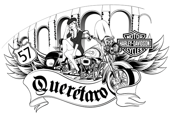 Harley Davidson Queretaro On Behance