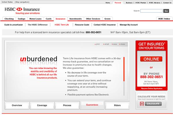 HSBC Insurance on Behance