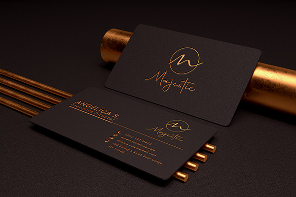 Luxury Business Card Design Project....