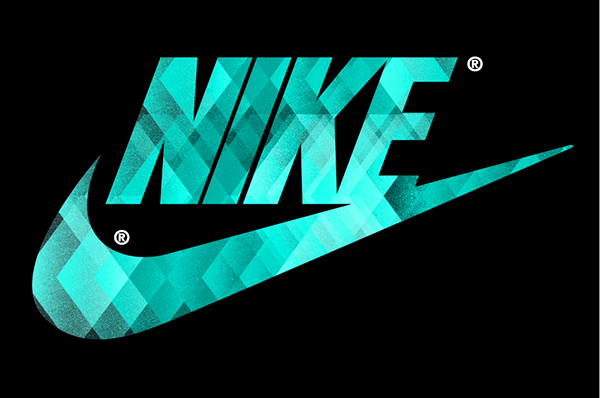 nike sign text