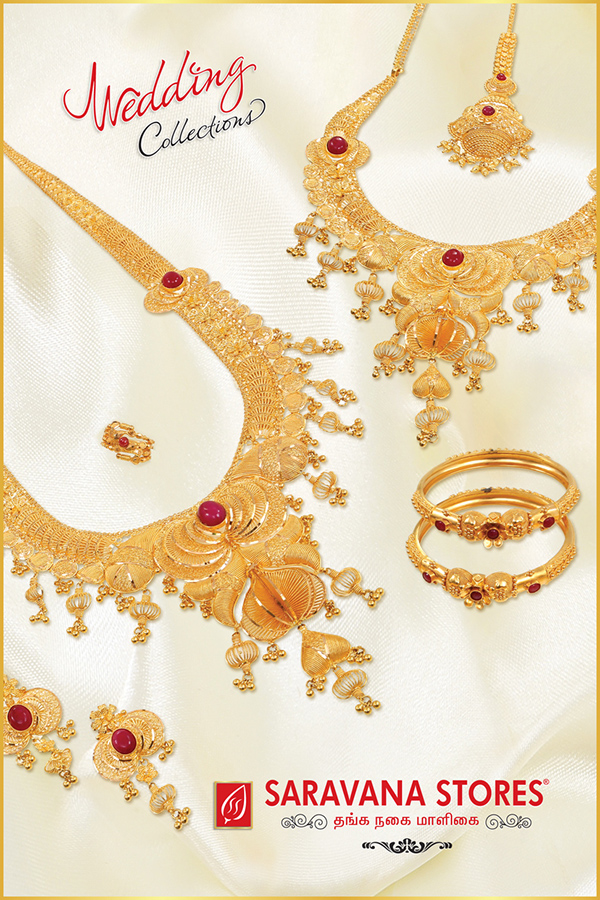 Saravana Stores Gold Palace - Glass Posters on Behance