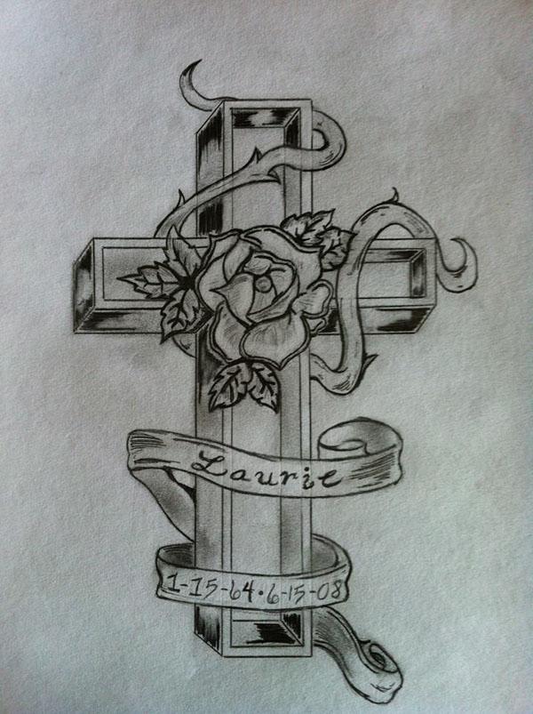 豐富的12套十字架刺青欣賞