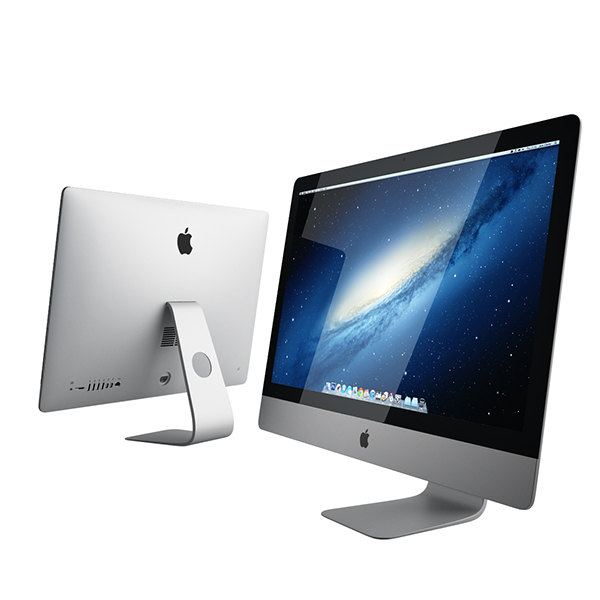 Free 3d model new imac by apple on behance for 3d raumgestaltung mac