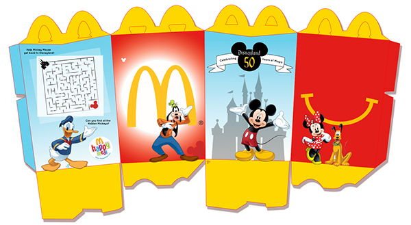 mcdonalds happy meal disneyland