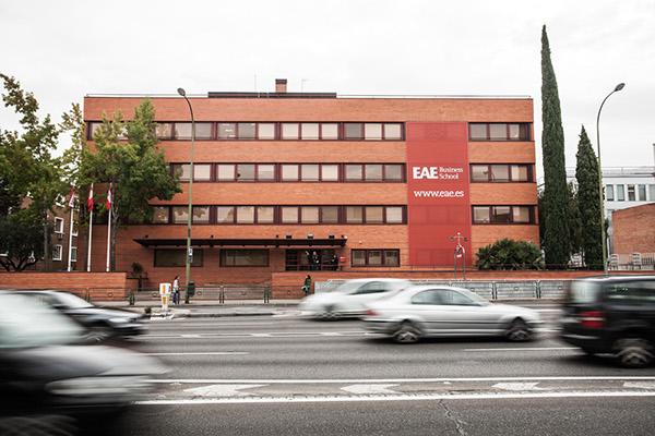eae business school sede madrid on behance