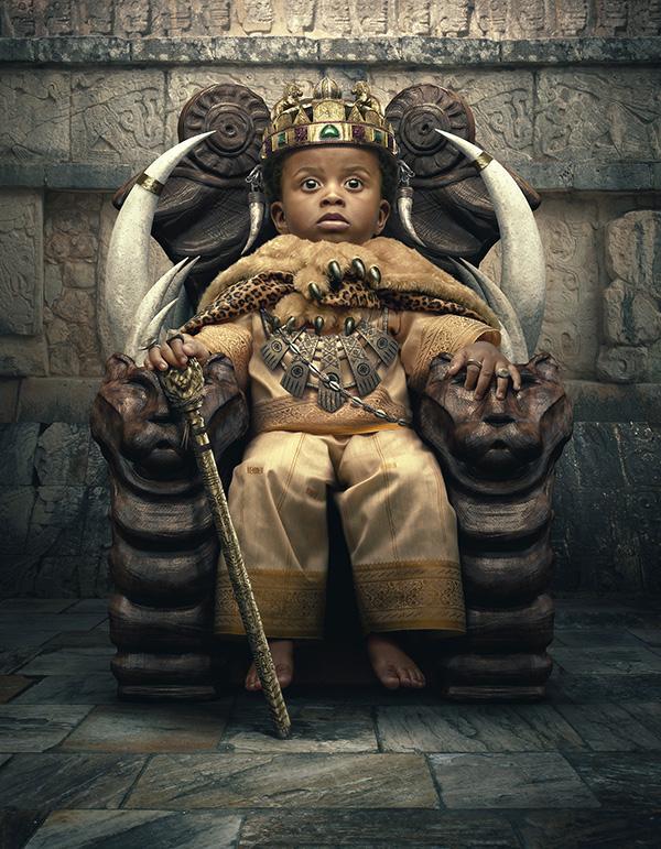 Little African king on Behance