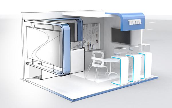Exhibition Booth Concept : Aero show singapore exhibit design on behance
