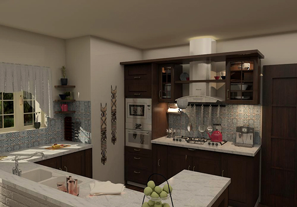 Kitchen Design Amr Hamad S Villa Cairo Egypt On Student Show