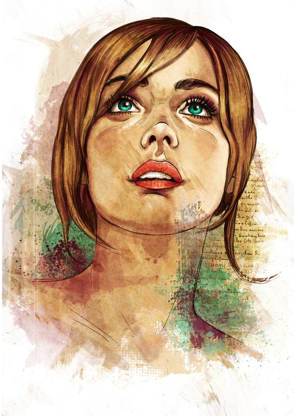 Ilustraciones de mujeres (por Robertoon)
