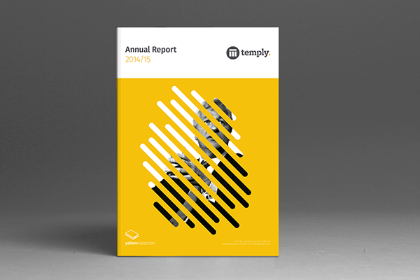 Annual Report Template On Behance  Annual Reports Templates