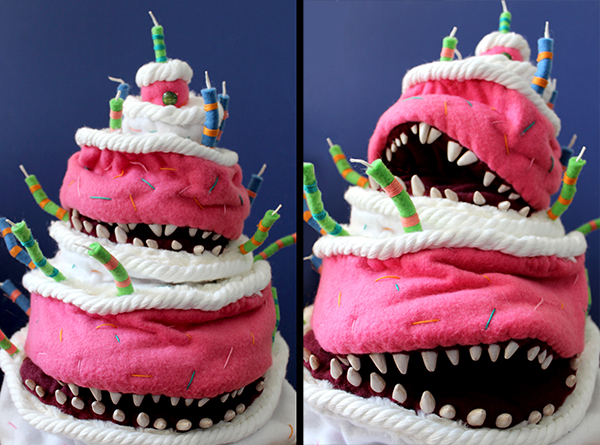 puppets cake