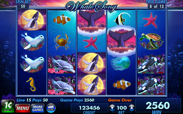 Whale Song Slot Machine