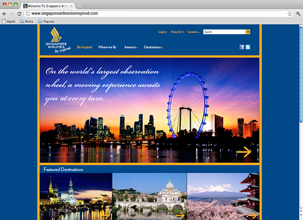 singapore airlines objectives Airlines have to transform their travel distribution model in direct and  the use of  these as objective input in the travel decision-making process.