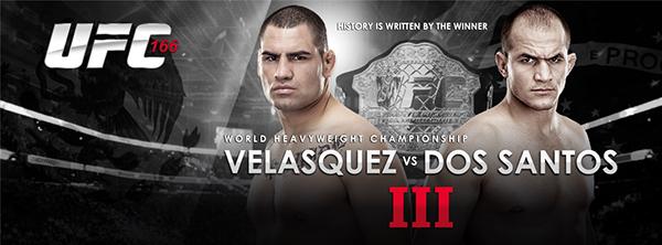 Poster UFC 166 Velasquez vs Dos Santos III. on Behance  Poster UFC 166 ...