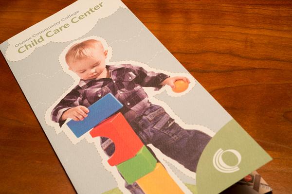 brochure child care community college